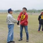 飛行順番の抽選の仲川選手