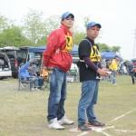 選抜トップの福田選手・助手は峯村選手