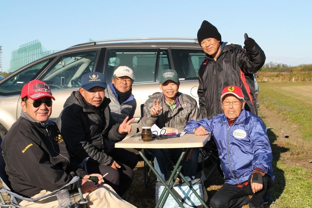 熊谷ラジコンの有志の方々